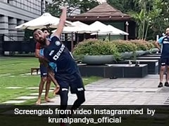 """""""You Can Train Anywhere You Put Your Mind To"""": Krunal Pandya Shares Inspiring Video On Instagram"""