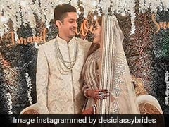 From Pastel Lehengas To Bright Sarees, Sana Sayyad's Wedding Outfits Are Minimal Chic At Its Best