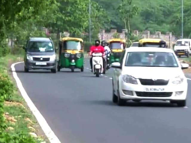 Video : Delhi Traffic Police Revise Speed Limit For Vehicles