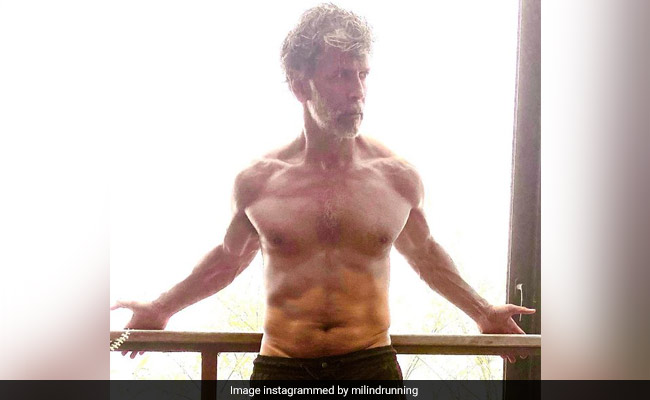 The Exercise That Takes Milind Soman Just 60 Seconds