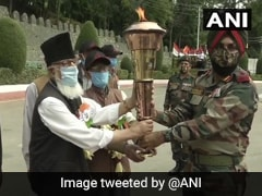 J&K Light Infantry Receives Victory Flame In Commemoration Of 1971 India-Pakistan War