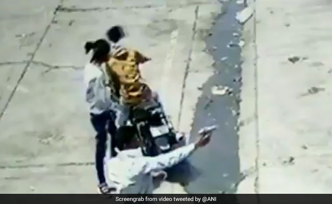 Caught On Camera: Six Men On Bikes Open Fire At A Shop In Rajasthan