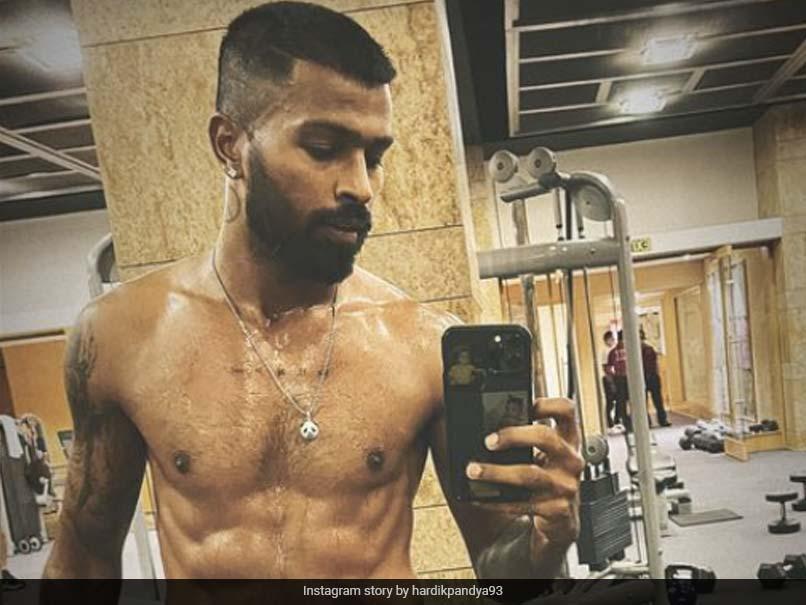 "Hardik Pandya Has ""Work Mode On"" In This Post-Workout Pic"