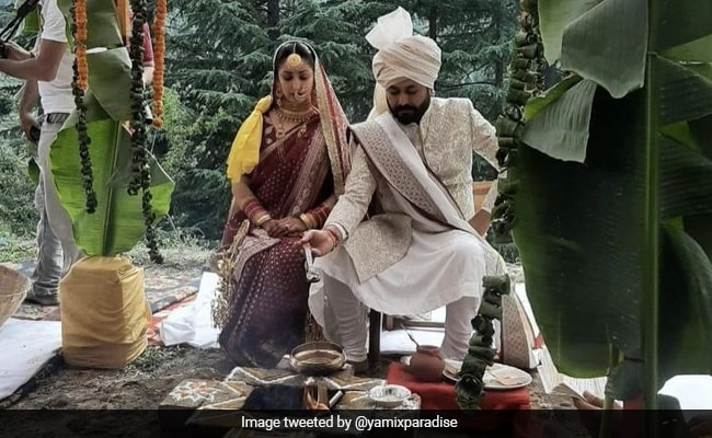 Viral: Unseen Pics From Yami Gautam And Aditya Dhar's Wedding