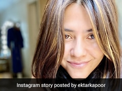 Ekta Kapoor Celebrates Her Birthday Alone In Quarantine With A Beautiful Cake; Take A Look