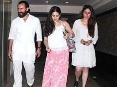 What Happened When Sara Ali Khan Met Saif And Kareena Kapoor's Baby Boy For The First Time