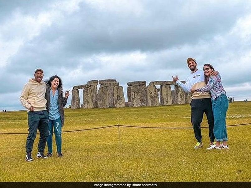 "Ishant Sharma Shares Snap With Mayank Agarwal At Stonehenge In England, Calls It ""Masterpiece Of Engineering"""