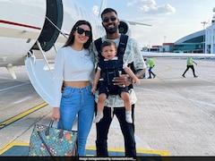 Hardik Pandya Off To Mumbai With Wife Natasa Stankovic And Son Ahead Of Sri Lanka Tour