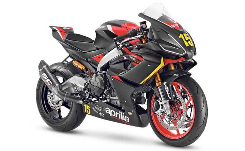 The Aprilia RS 660 Trofeo is a track-only race-bike based on the stock RS 660