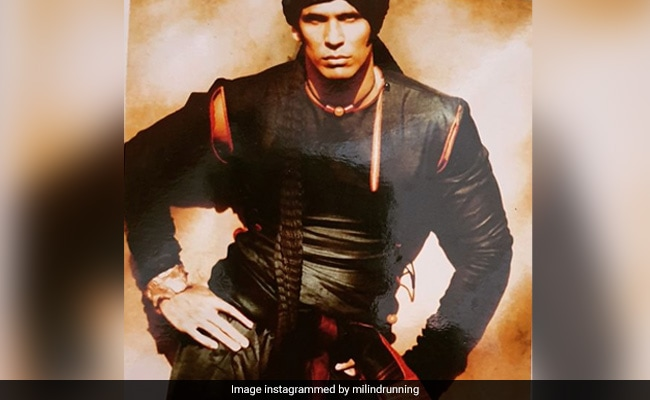 Milind Soman's Modelling Career Summed Up In Four Pics. Which One's Your Favourite?