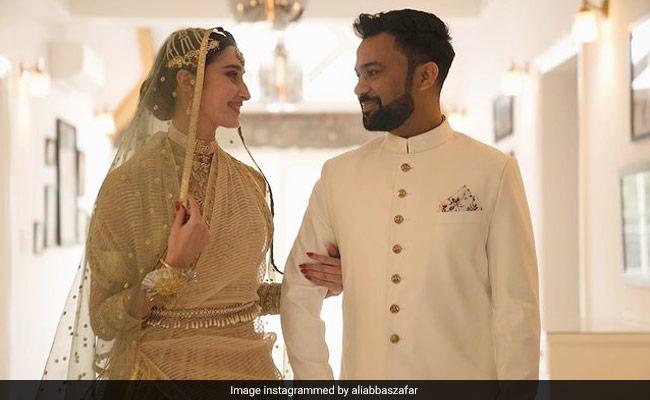On Ali Abbas Zafar's Wife Alicia's Birthday, A New Pic From Their Wedding Album