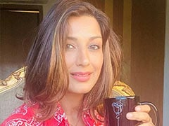 Sonali Bendre And A Cup Of Coffee Make The Perfect Pair For A Rainy Day