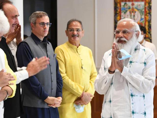 Video : Delimitation Has To Happen So That Polls Can Happen In J&K: PM Modi