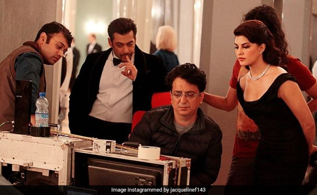 On 7 Years Of Kick, Jacqueline Fernandez Shares A BTS Pic With Salman Khan From Set