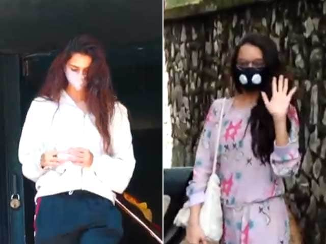 Video : A Day In Shraddha Kapoor, Disha Patani's Busy Lives