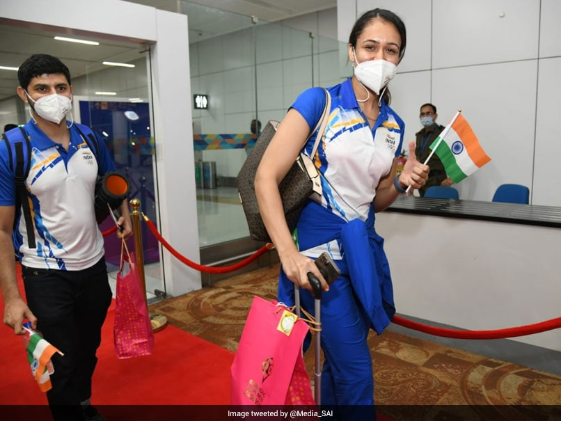 Photo of Tokyo Olympics: First Batch Of Indian Athletes Departs For Tokyo In Presence of Sports Minister, SAI, IOA Officials