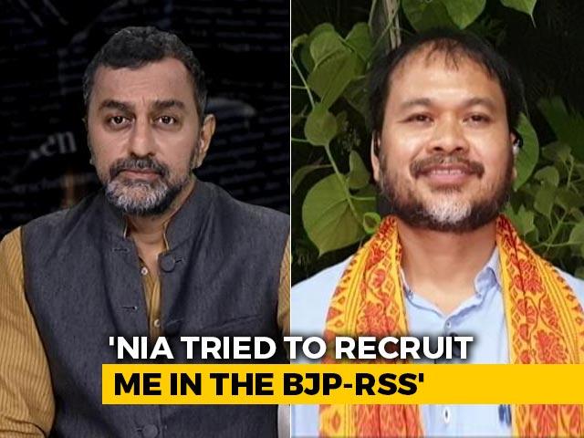 Video : NIA Tried To Recruit Me For BJP, RSS: Akhil Gogoi