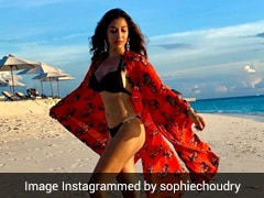Temperatures Are On The Rise And We've Got Sophie Choudry's Bikini To Blame For It