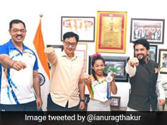Tokyo Olympics: Mirabai Chanu Created History, Entire Nation Proud Of Her, Says Sports Minister Anurag Thakur
