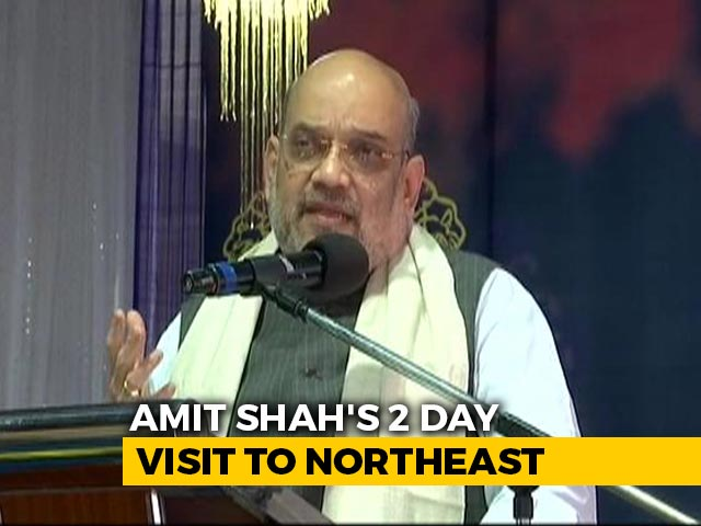 Video : Protecting Culture, Food Habit Among Amit Shah's 3 Goals In Northeast