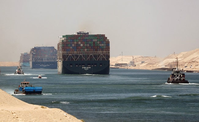 Ship That Blocked Suez Canal Leaves Egyptian Waters: Report