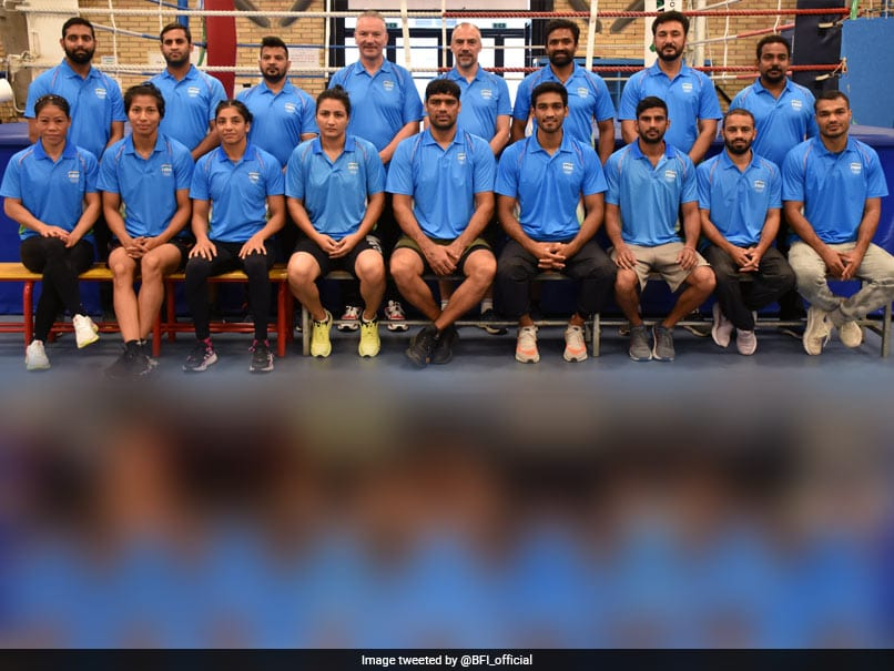 Photo of Tokyo Olympics: Indian Boxing Contingent Arrives In Tokyo Ahead Of Olympics