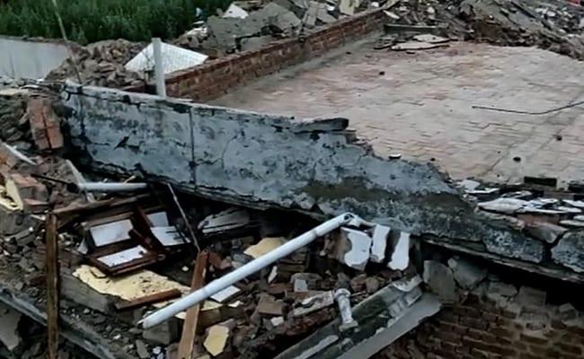 3 Dead In Building Collapse  In Gurgaon Amid Heavy Rains