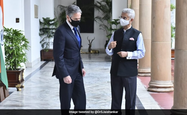 S Jaishankar Discusses Afghan Situation With US Secretary Of State