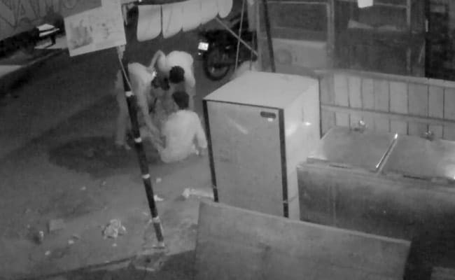 Caught On Camera: Man Forced To Take Off Clothes During Robbery In Delhi