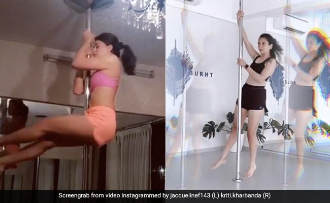 Jacqueline Fernandez और Kriti Kharbanda ने 'पोल डांस' से बटोरी सुर्खियां, वायरल हुआ दोनों का Video