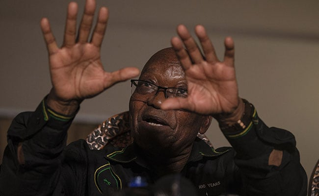 Jailing Me During Covid Is Same As Death Sentence: Jacob Zuma