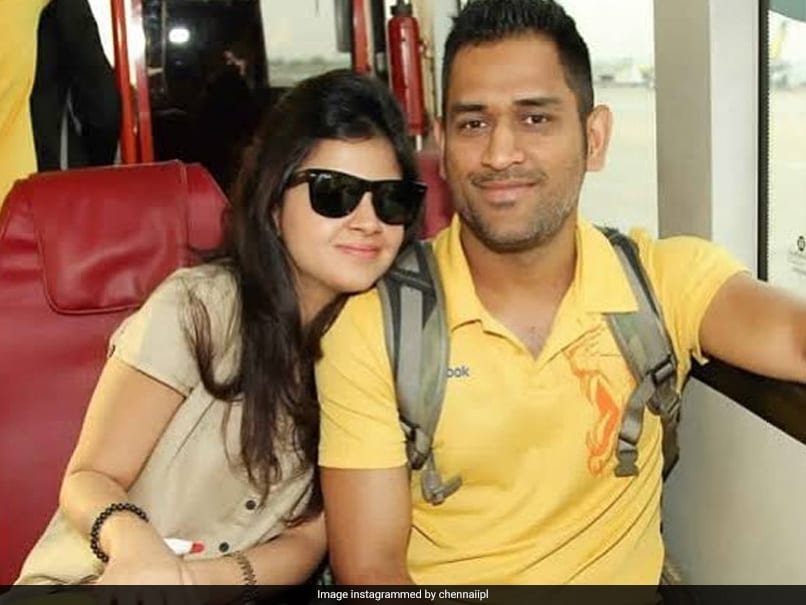 """""""King And Queen"""": Chennai Super Kings Wish MS Dhoni And Sakshi On 11th Wedding Anniversary"""