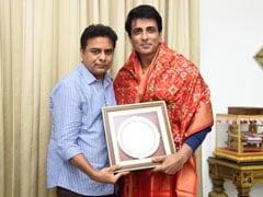 "Sonu Sood Was Treated To The ""World's Best Veg Biryani"" In Hyderabad"