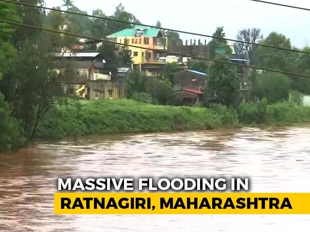 Video : Maharashtra: Konkan Region Hit By Heavy Overnight Rain