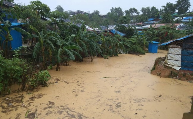 'Nightmare': Thousands Displaced As Floods Hit Bangladesh Rohingya Camps