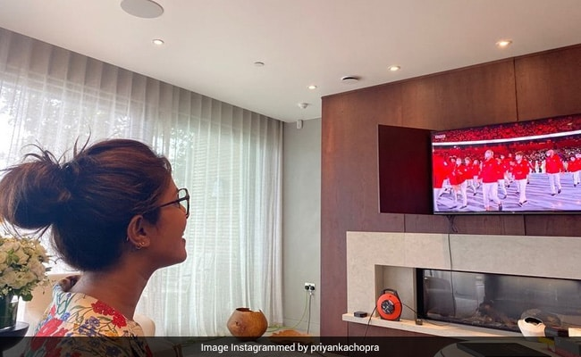 Tokyo Olympics Opening Ceremony:  Priyanka Chopra Cheered For Indian Contingent, All The Way From London