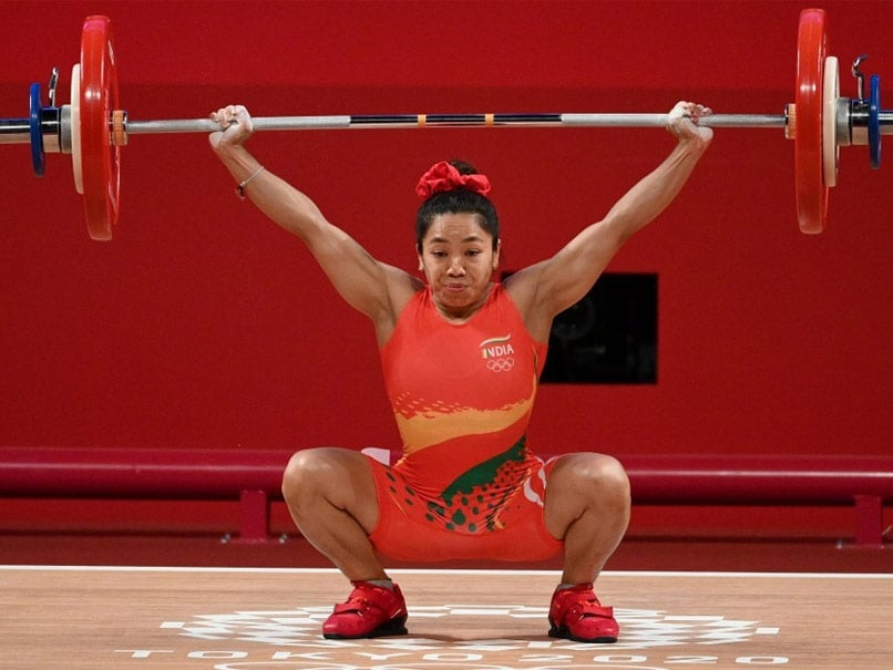 """Mirabai Chanuk, after winning Silver at the Tokyo Olympics, says """"I'll have pizza first"""" News from the Olympics"""