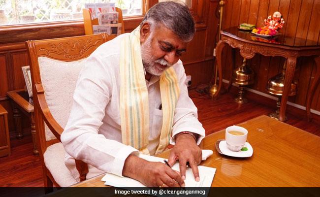 Prahlad Patel, Bishweswar Tudu Take Charge As Junior Ministers In Jal Shakti Ministry