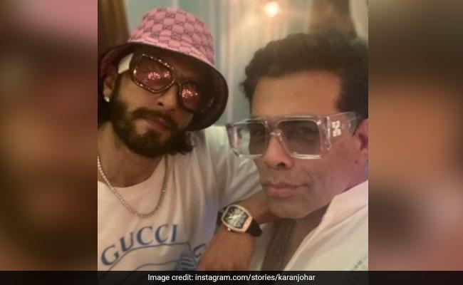 When Ranveer Singh And Karan Johar Pose For A Selfie, Swag Is Guaranteed