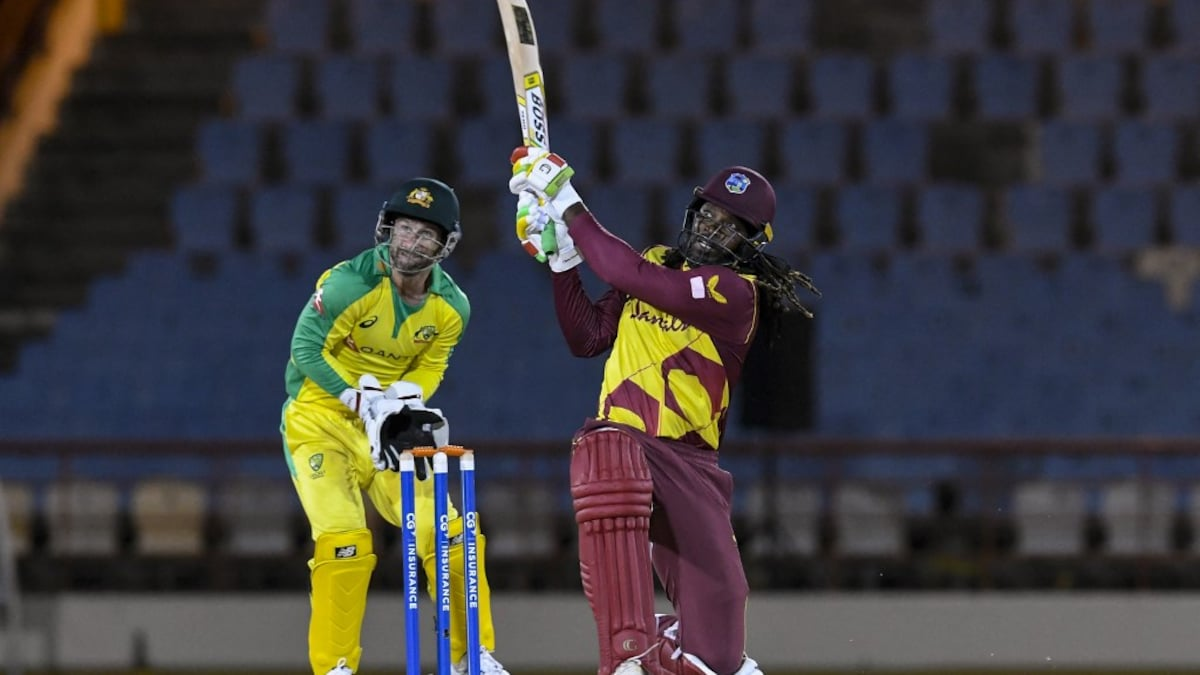 WI vs AUS: Chris Gayle shines West Indies 3-0 win over T20I Series vs Australia |  Cricket News