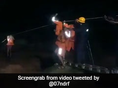 Watch: Man Trapped In Himachal Stream Rescued In Midnight Operation
