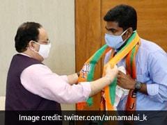Former Cop K Annamalai Named BJP's Tamil Nadu Chief