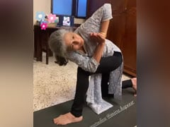 """Mira Rajput's Mom And Grandmother Were The """"Rockstars"""" Of Her Yoga Session. See Pics"""