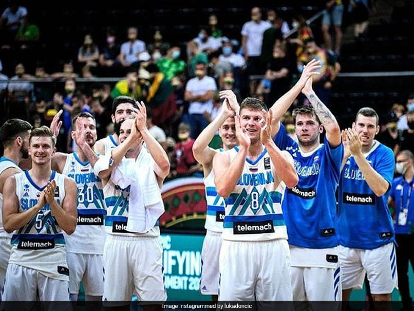 Tokyo Games: NBA Star Luka Doncic Leads Slovenia Into Olympics
