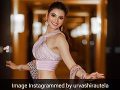 Urvashi Rautela's Glam Streak Continues With Her Sparkly <i>Lehenga</i> On Display