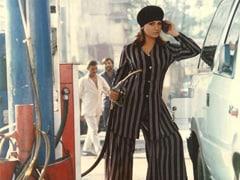 "When Pooja Bhatt Had An ""Impromptu Photoshoot"" At A Petrol Pump"