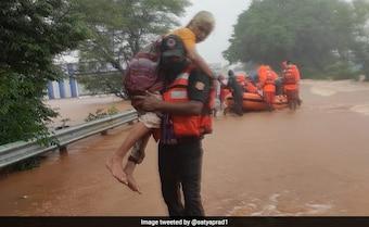 Over 100 Dead As Rain, Landslides Hit Maharashtra, 80,000 Moved To Safety