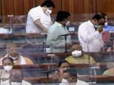 Video : Lok Sabha Adjourned For Third Time Amid Protests Over Pegasus, Other Issues