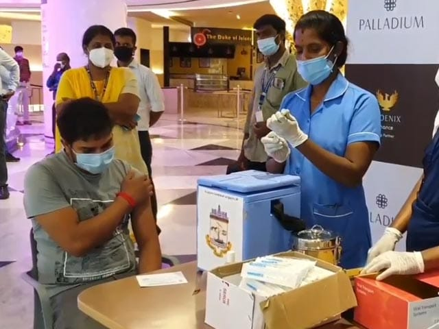 Video : Chennai Launches Vaccination Camps At Malls