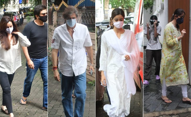 Ananya Panday's Grandmother Dies In Mumbai; Neelam Kothari Visits Chunky And Bhavana Panday
